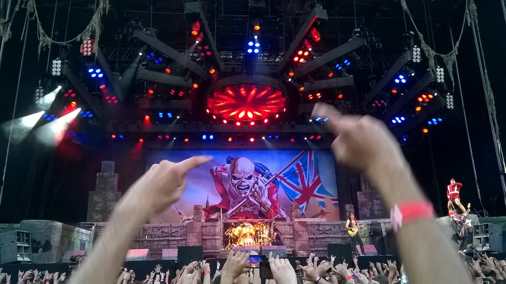 Iron Maiden - The Book Of Souls World Tour - 2016