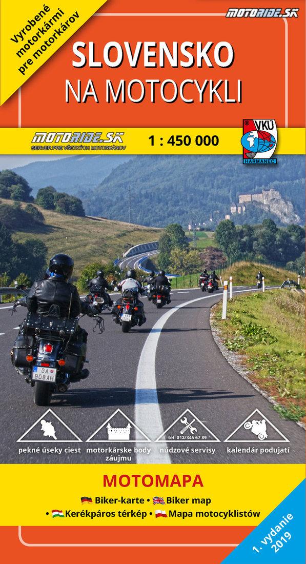 Pripravuje Sa Mapa Slovensko Na Motocykli 2019 Aj Ty Mozes