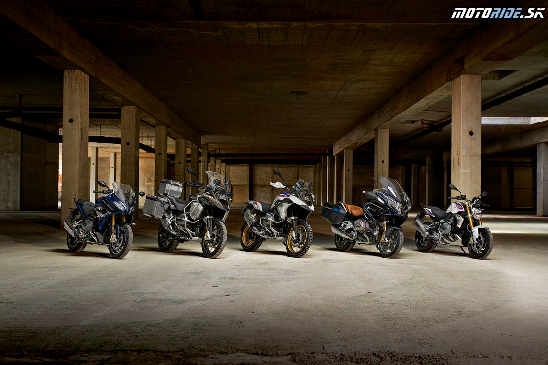 Nové BMW R 1250 R, R 1250 RS a R 1250 GS Adventure  2019