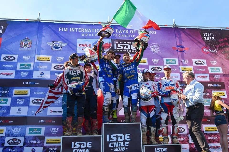 Junior trophy - ISDE 2018