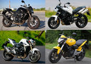 Z 750R vs. StreetTriple 675R vs.<br />