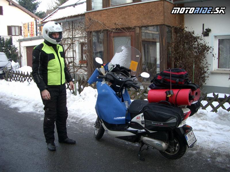 Na motorke v zime  Oblečenie  motoride.sk 9113294b4a