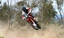 Joan Barreda a Honda CRF450 Rally
