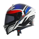 AGV K-5 E2205 MULTI - ROADRACER WHITE RED BLUE 2