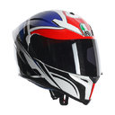 AGV K-5 E2205 MULTI - ROADRACER WHITE RED BLUE