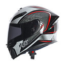 AGV K-5 E2205 MULTI - THE CUBE BLACK SILVER RED