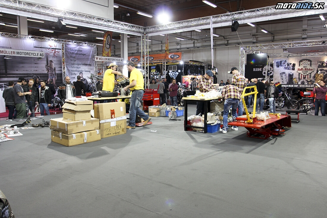 European Biker Build-Off - Custombike Show Bad Salzuflen 2015