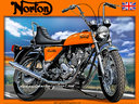 Norton 750 commando