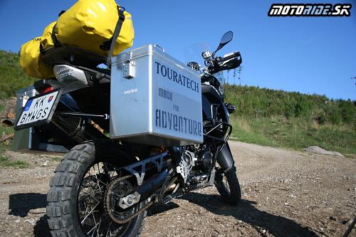 e0dc7aea8a9dd BMW F800GS v úprave Touratech: motoride.sk