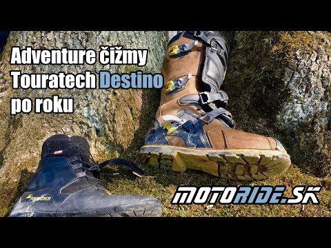0dc2777daf0b Touratech Destino - adventure čižmy po roku - Video   motoride.sk